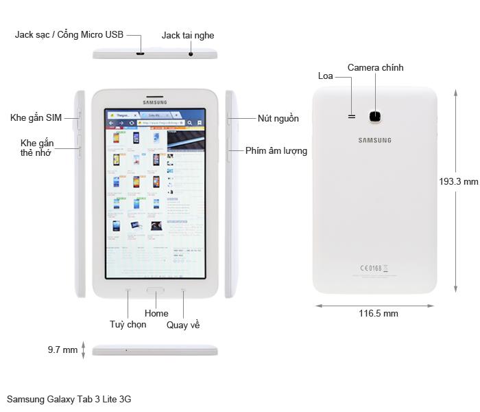 Samsung galaxy tab 3 lite wifi t110 - Samsung galaxy tab 3 7 8go lite blanc ...
