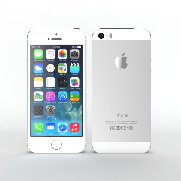 iPhone 5S 32GB Trắng (Like New) mới 99%_005