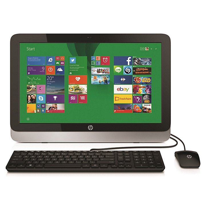 "PC HP 22-2027d AiO 21.5"" Touch Core i5-4460T (K5L73AA)"