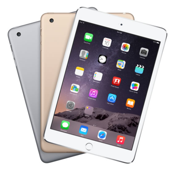 iPad Mini 3 16GB Wifi + 4G Gold like new mới 99%_002
