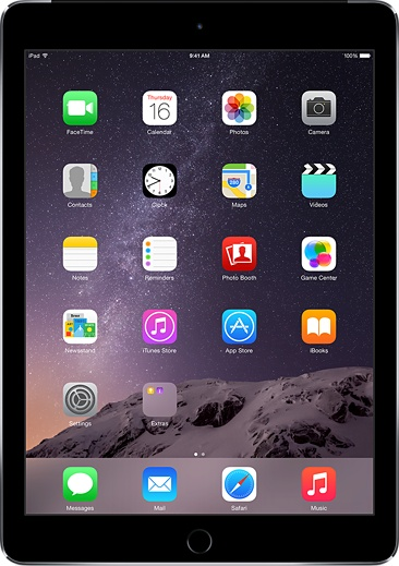 iPad Air 2 16GB Wifi + 4G Gray like new mới 99%