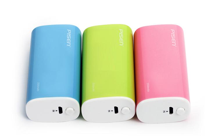 Nguồn di động Pisen Portable Power 2500mAh