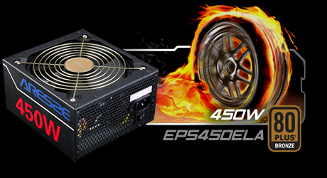 Nguồn Golden Field ARESZE 450W EPS450ELA (85Plus)