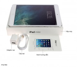 iPad Mini 32GB Wifi + 4G (Trắng) like new mới 99%_1