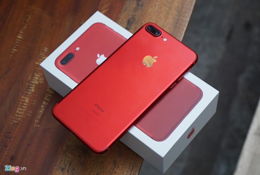 Iphone 7 Plus 256gb Quốc Tế Like New 99 Màu đỏ